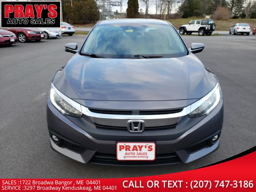 Used 2016 Honda Civic Sedan in Bangor , Maine | Pray's Auto Sales . Bangor , Maine
