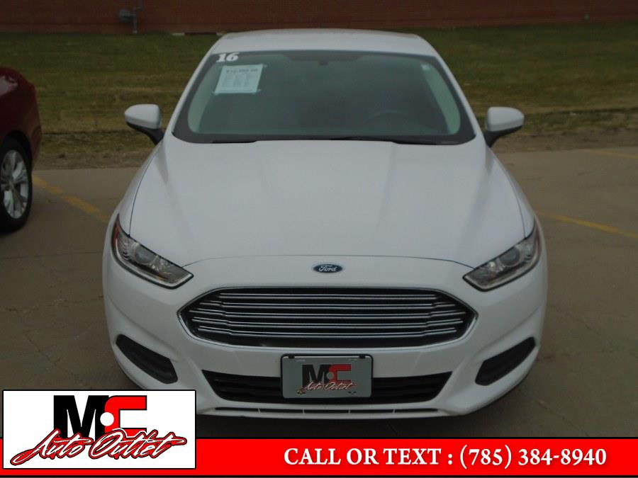 Used Ford Fusion 4dr Sdn S FWD 2016 | M C Auto Outlet Inc. Colby, Kansas