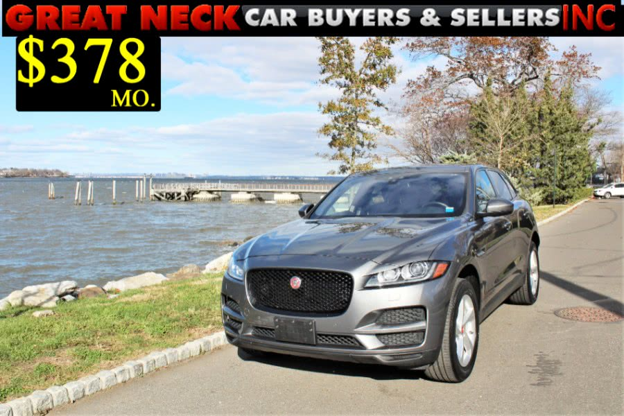 2017 Jaguar F-PACE 35t Premium AWD, available for sale in Great Neck, NY