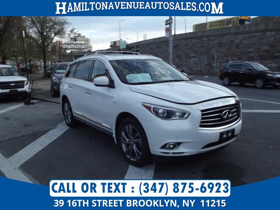 Used Infiniti QX60 AWD 4dr 2014 | Hamilton Avenue Auto Sales DBA Nyautoauction.com. Brooklyn, New York
