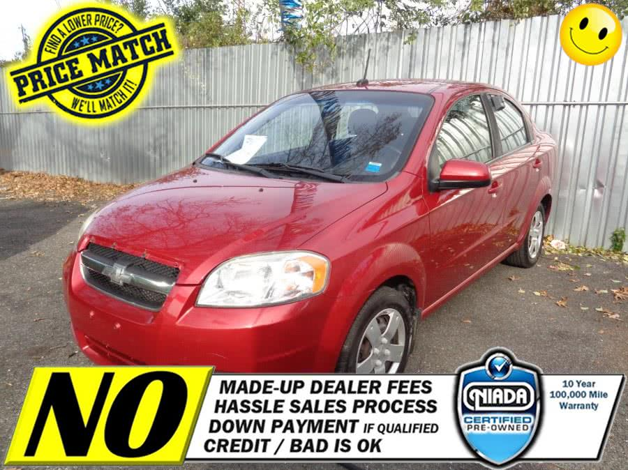 Used Chevrolet Aveo 4dr Sdn LT w/1LT 2010 | Sunrise Auto Sales. Rosedale, New York