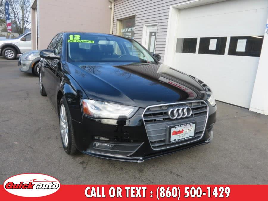 Used 2013 Audi A4 in Bristol, Connecticut | Quick Auto LLC. Bristol, Connecticut