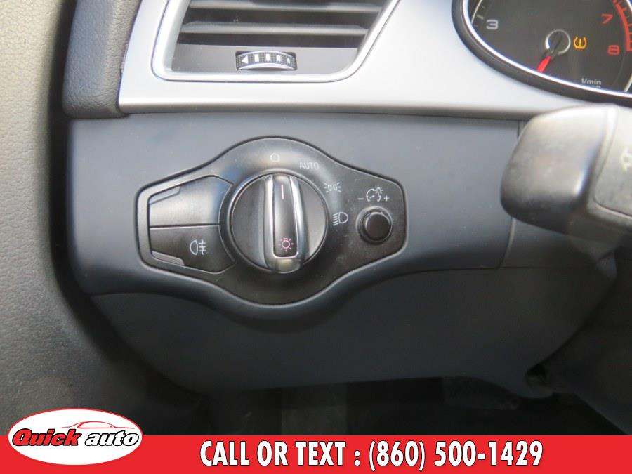 Used Audi A4 4dr Sdn Auto quattro 2.0T Premium 2013 | Quick Auto LLC. Bristol, Connecticut
