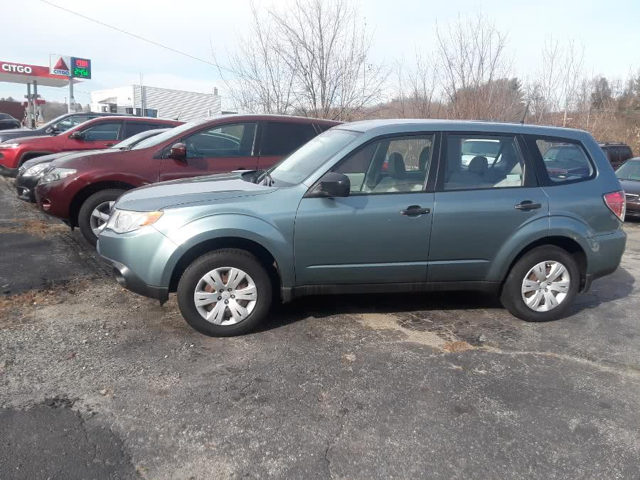 Used Subaru Forester 4dr Auto 2.5X PZEV 2010 | Bart's Automotive Sales. Watertown, Connecticut