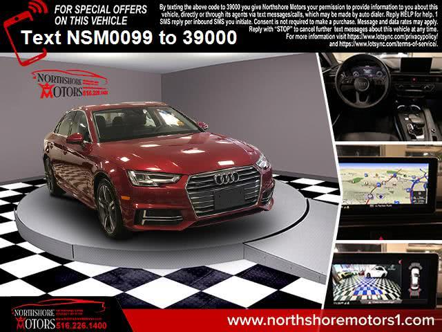 Used Audi A4 2.0 TFSI Tech Premium Plus S Tronic quattro AWD 2018 | Northshore Motors. Syosset , New York