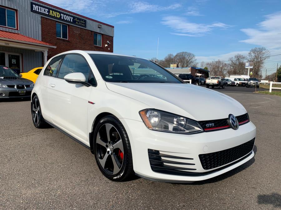 Used Volkswagen Golf GTI 2dr HB Man S 2015 | Mike And Tony Auto Sales, Inc. South Windsor, Connecticut