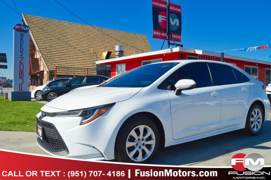 Used 2020 Toyota Corolla in Moreno Valley, California | Fusion Motors Inc. Moreno Valley, California