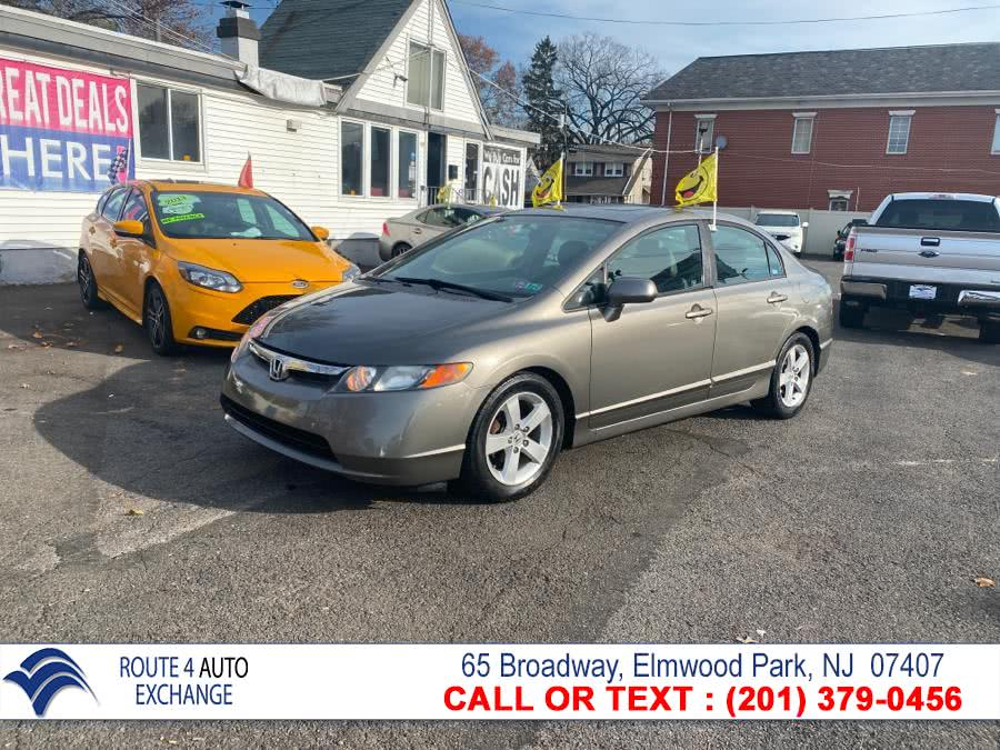 Used Honda Civic Sdn 4dr Auto EX-L 2008 | Route 4 Auto Exchange. Elmwood Park, New Jersey