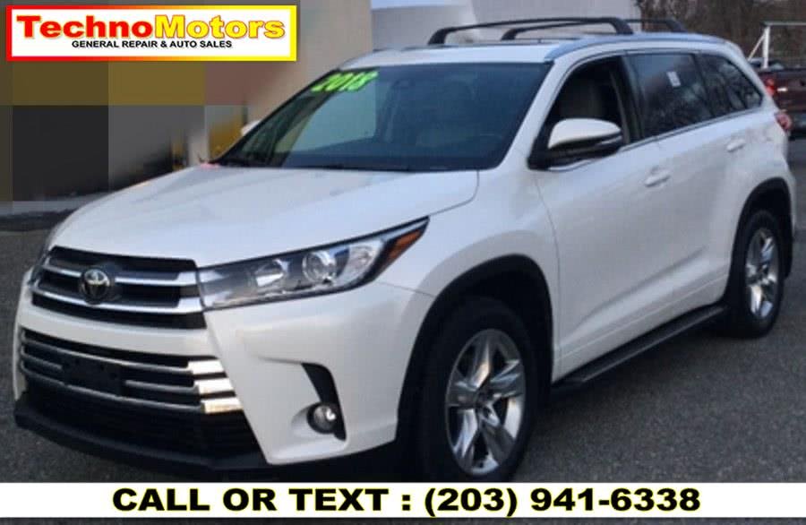 Used 2018 Toyota Highlander in Danbury , Connecticut | Techno Motors . Danbury , Connecticut