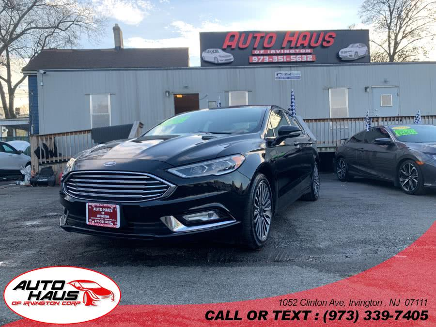 Used 2017 Ford Fusion in Irvington , New Jersey | Auto Haus of Irvington Corp. Irvington , New Jersey