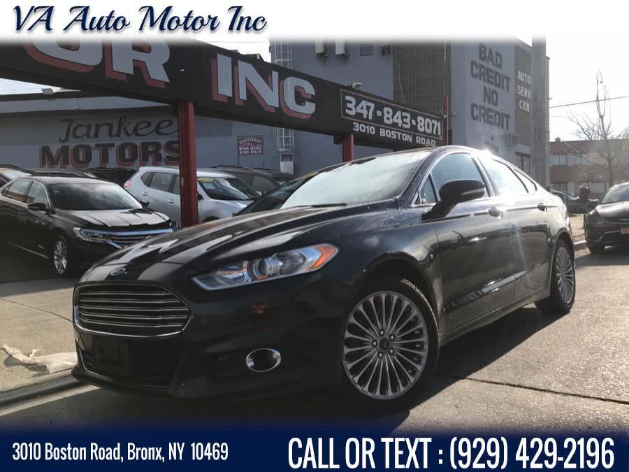Used Ford Fusion 4dr Sdn Titanium FWD 2014 | VA Auto Motor Inc. Bronx, New York