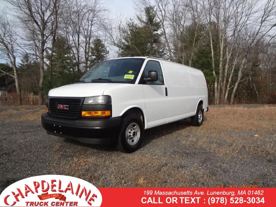 Used 2019 GMC Savana Cargo Van in Lunenburg, Massachusetts   Chapdelaine Truck Center Inc.. Lunenburg, Massachusetts