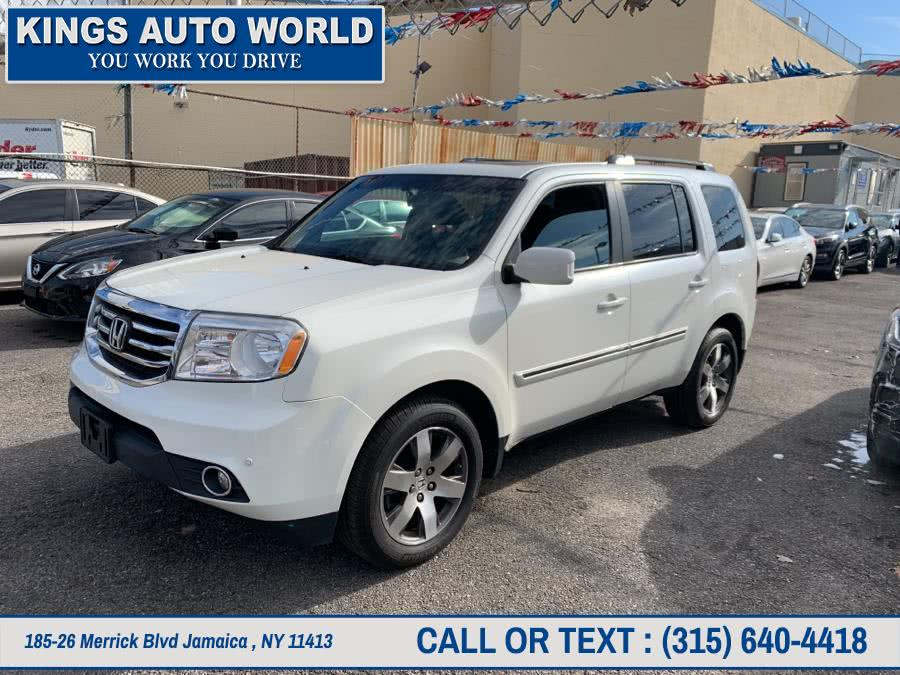 Used Honda Pilot 4WD 4dr Touring w/RES & Navi 2015 | Kings Auto World. Jamaica , New York