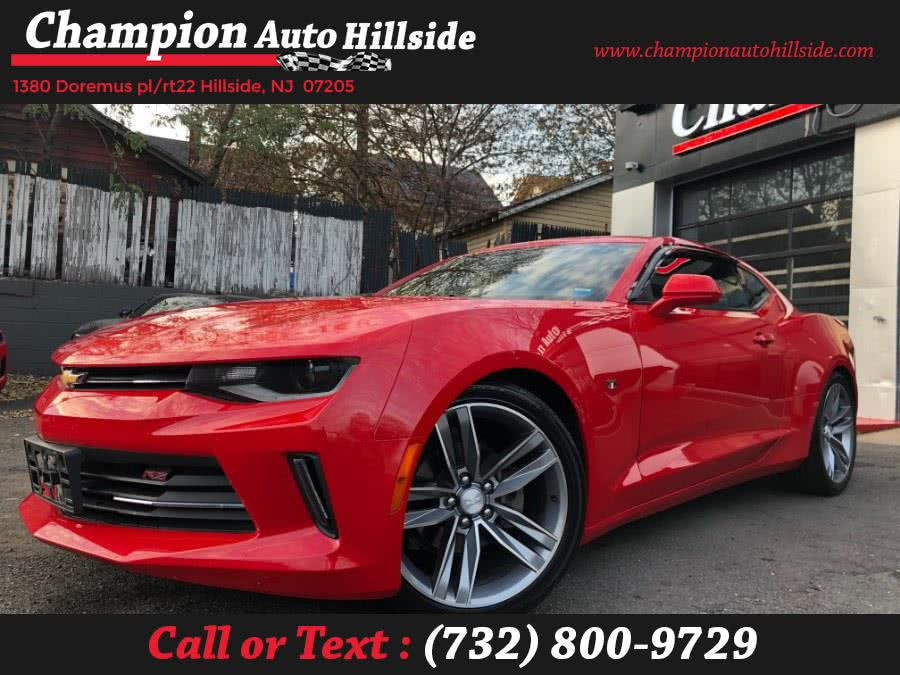 Used 2018 Chevrolet Camaro in Hillside, New Jersey | Champion Auto Sales. Hillside, New Jersey