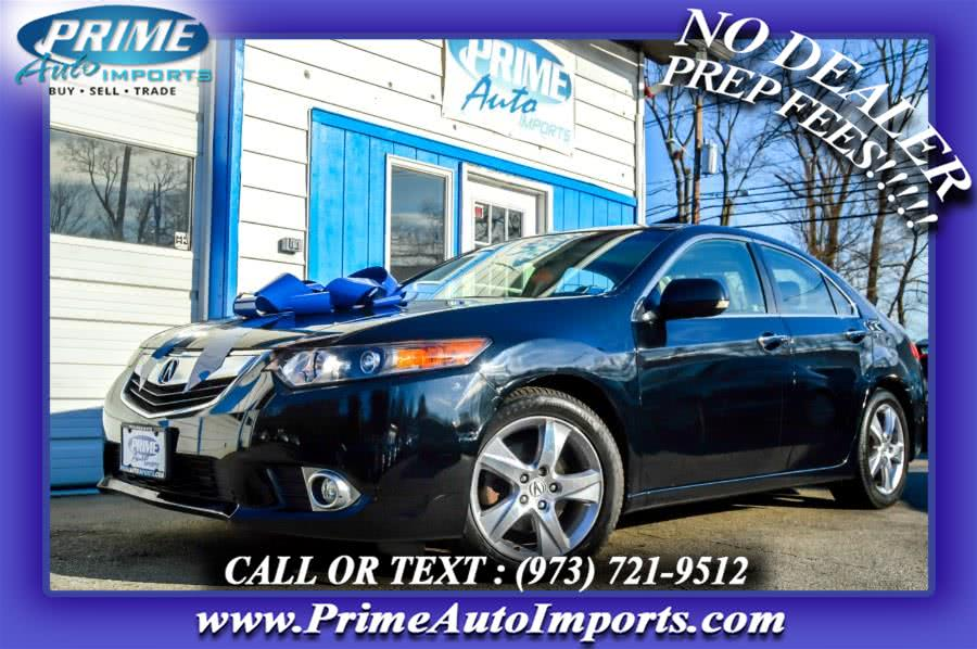 Used 2013 Acura TSX in Bloomingdale, New Jersey | Prime Auto Imports. Bloomingdale, New Jersey