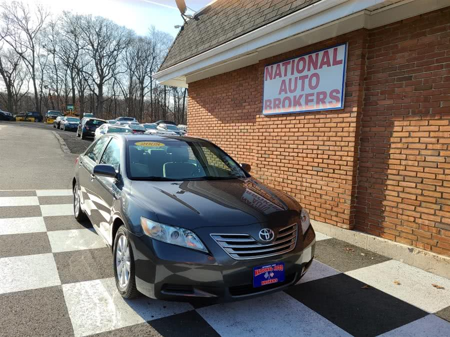 Used 2008 Toyota Camry Hybrid in Waterbury, Connecticut | National Auto Brokers, Inc.. Waterbury, Connecticut