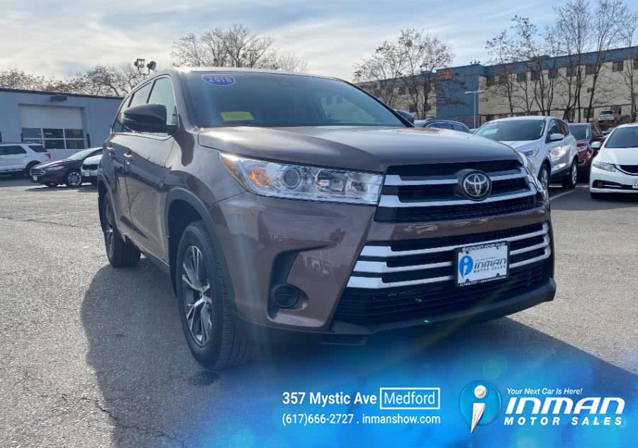 Used 2018 Toyota Highlander in Medford, Massachusetts | Inman Motors Sales. Medford, Massachusetts