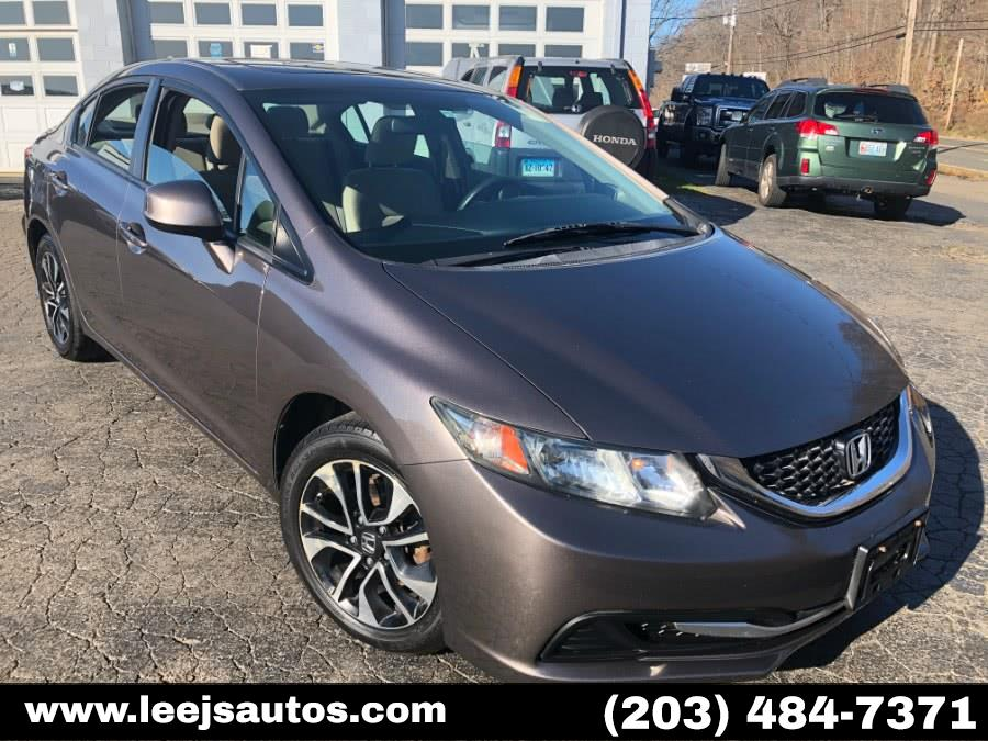 Used 2013 Honda Civic Sdn in North Branford, Connecticut | LeeJ's Auto Sales & Service. North Branford, Connecticut