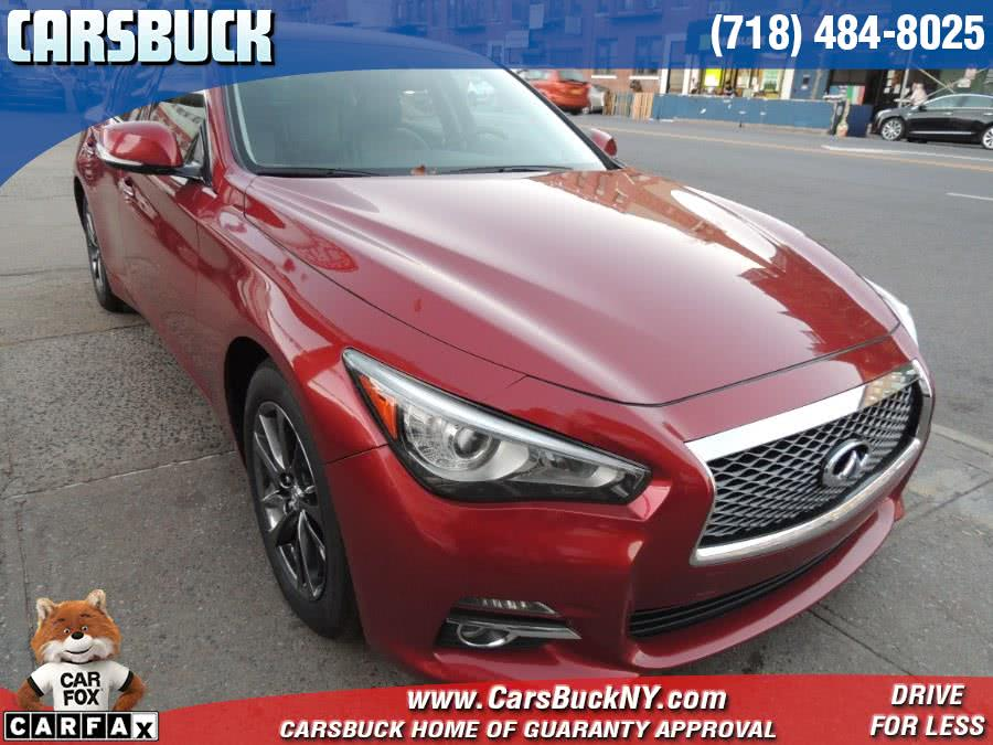 Used 2015 Infiniti Q50 in Brooklyn, New York | Carsbuck Inc.. Brooklyn, New York