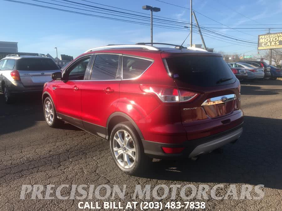 Used Ford Escape 4WD 4dr Titanium 2014 | Precision Motor Cars LLC. Branford, Connecticut