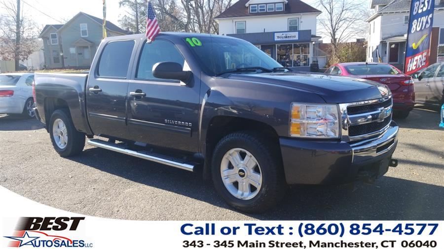 "Used Chevrolet Silverado 1500 4WD Crew Cab 143.5"" LT 2010 | Best Auto Sales LLC. Manchester, Connecticut"