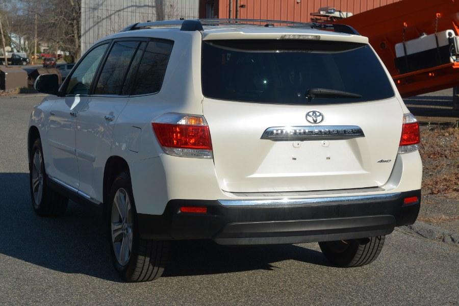 Used Toyota Highlander 4WD 4dr V6  Limited (Natl) 2012   New Beginning Auto Service Inc . Ashland , Massachusetts