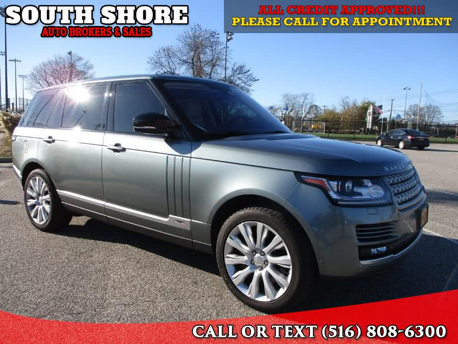 2014 Land Rover Range Rover 4WD 4dr Supercharged LWB, available for sale in Massapequa, NY