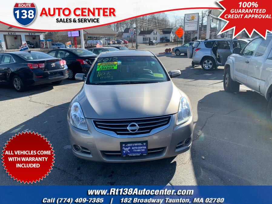 Used 2012 Nissan Altima in Taunton, Massachusetts | Rt 138 Auto Center Inc . Taunton, Massachusetts