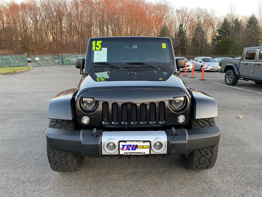 Used Jeep Wrangler Unlimited 4WD 4dr Wrangler X *Ltd Avail* 2015 | Tru Auto Mall. Berlin, Connecticut