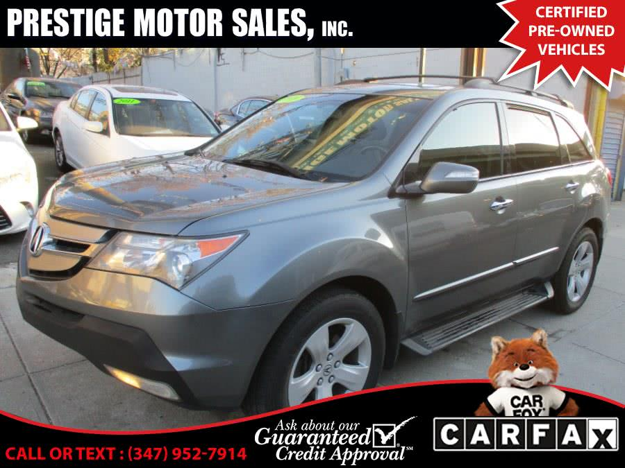 Used Acura MDX AWD 4dr Sport/Entertainment Pkg 2009 | Prestige Motor Sales Inc. Brooklyn, New York
