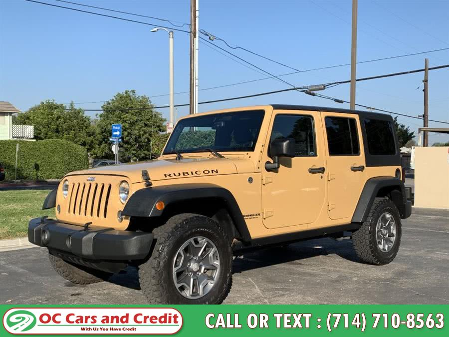 Used 2014 Jeep Wrangler Unlimi in Garden Grove, California | OC Cars and Credit. Garden Grove, California