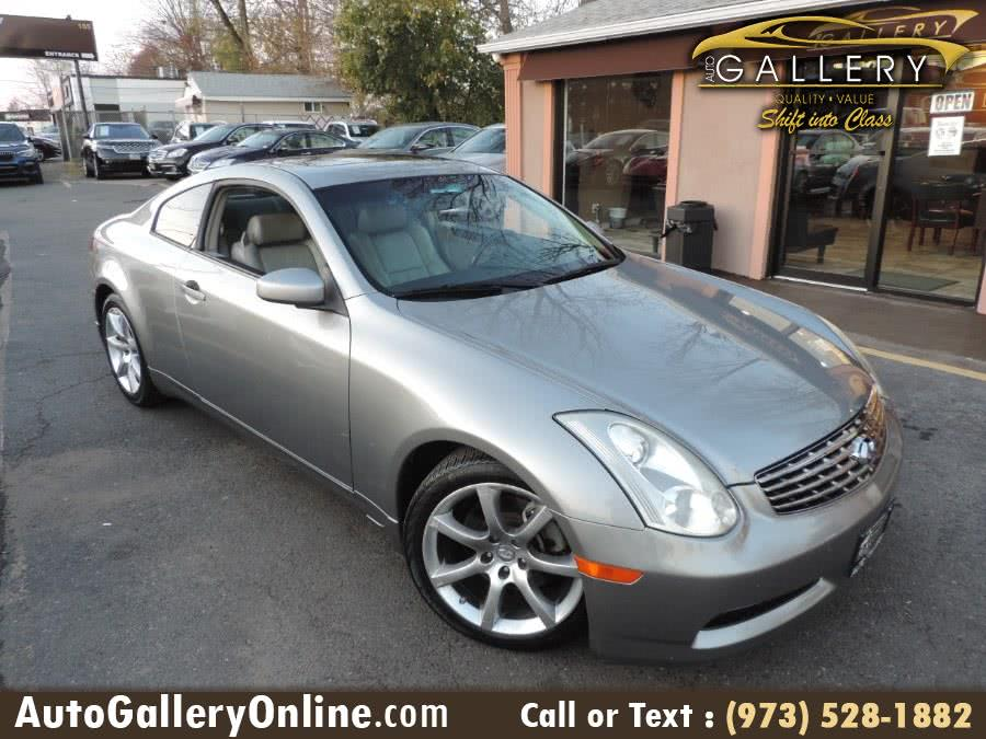 Used Infiniti G35 Coupe 2dr Cpe Manual 2006 | Auto Gallery. Lodi, New Jersey