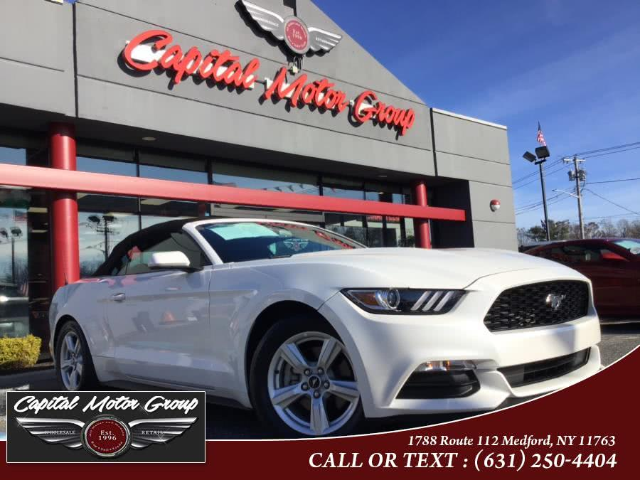 Used Ford Mustang V6 Convertible 2017 | Capital Motor Group Inc. Medford, New York