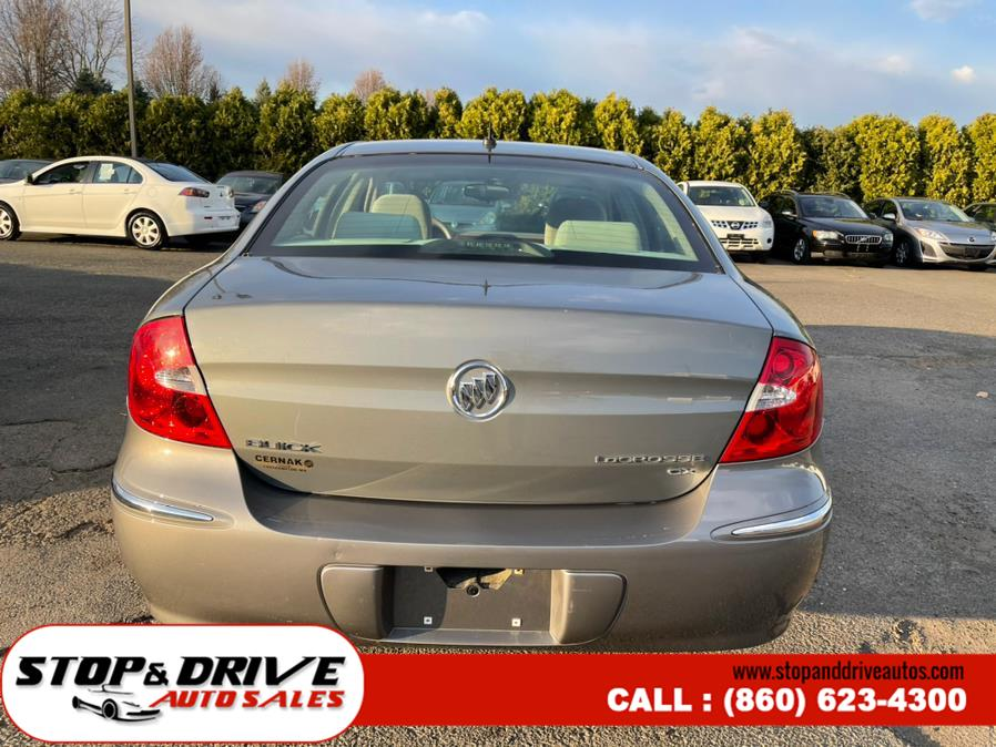 Used Buick LaCrosse 4dr Sdn CX 2008 | Stop & Drive Auto Sales. East Windsor, Connecticut