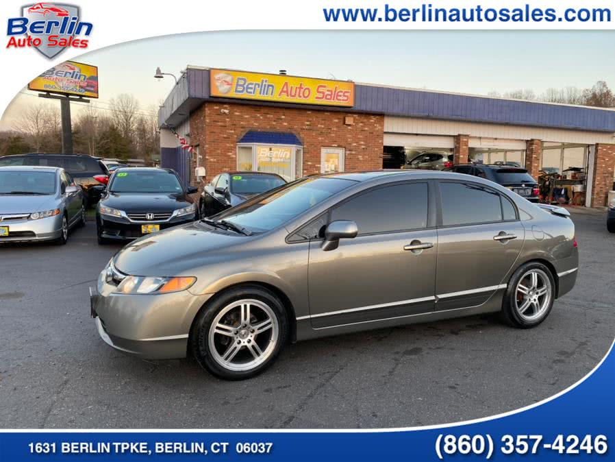 Used 2007 Honda Civic Sdn in Berlin, Connecticut | Berlin Auto Sales LLC. Berlin, Connecticut