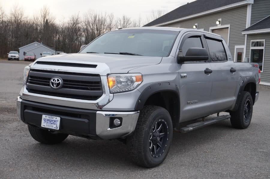 Used Toyota Tundra 4WD Truck CrewMax 5.7L V8 6-Spd AT SR5 (Natl) 2015 | Rockland Motor Company. Rockland, Maine