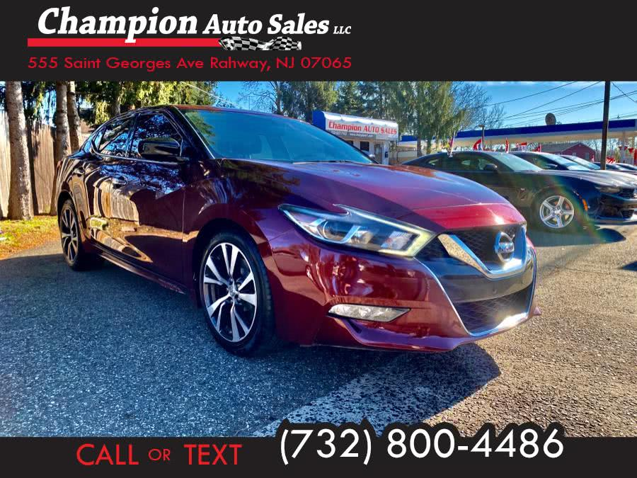 Used 2016 Nissan Maxima in Rahway, New Jersey | Champion Auto Sales. Rahway, New Jersey