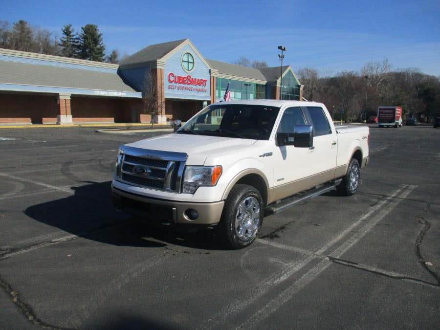 "Used Ford F-150 4WD SuperCrew 145"" Lariat 2011 | Universal Motors LLC. New Britain, Connecticut"