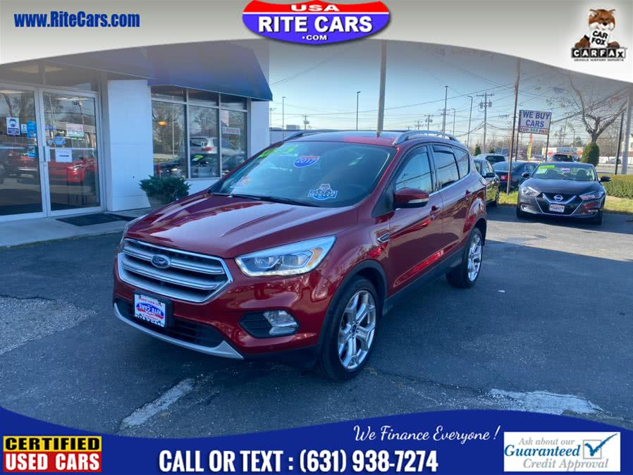 Used Ford Escape Titanium 4WD 2017 | Rite Cars, Inc. Lindenhurst, New York