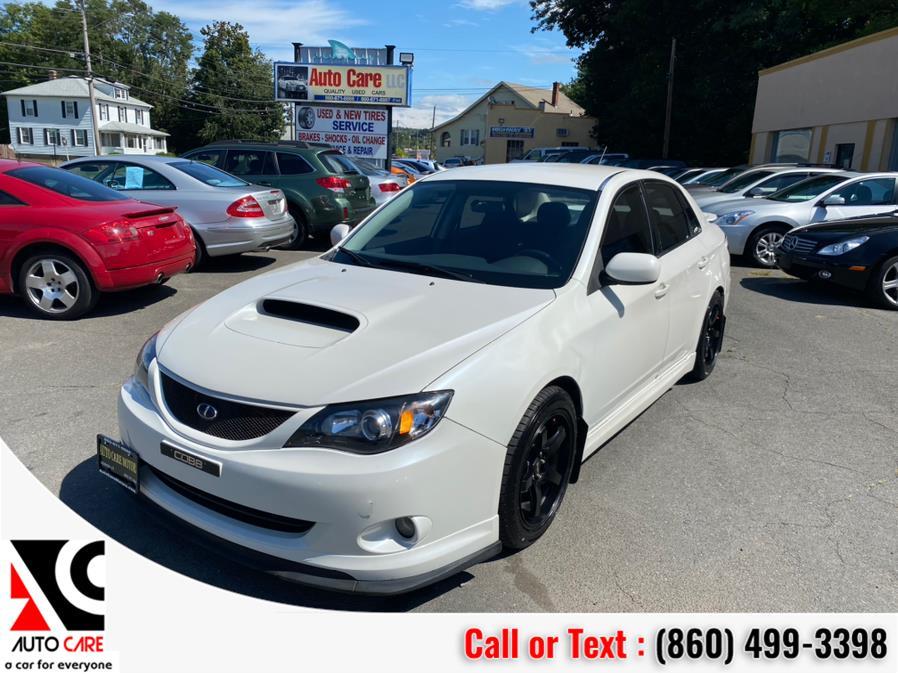 Used Subaru Impreza Sedan 4dr Man WRX w/Premium Pkg 2008 | Auto Care Motors. Vernon , Connecticut