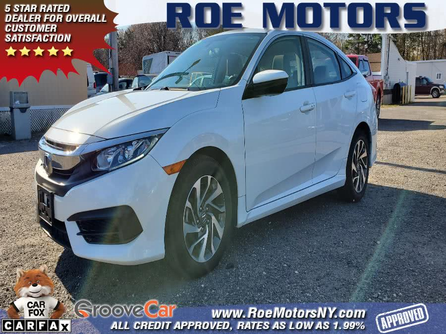 Used 2018 Honda Civic Sedan in Shirley, New York | Roe Motors Ltd. Shirley, New York