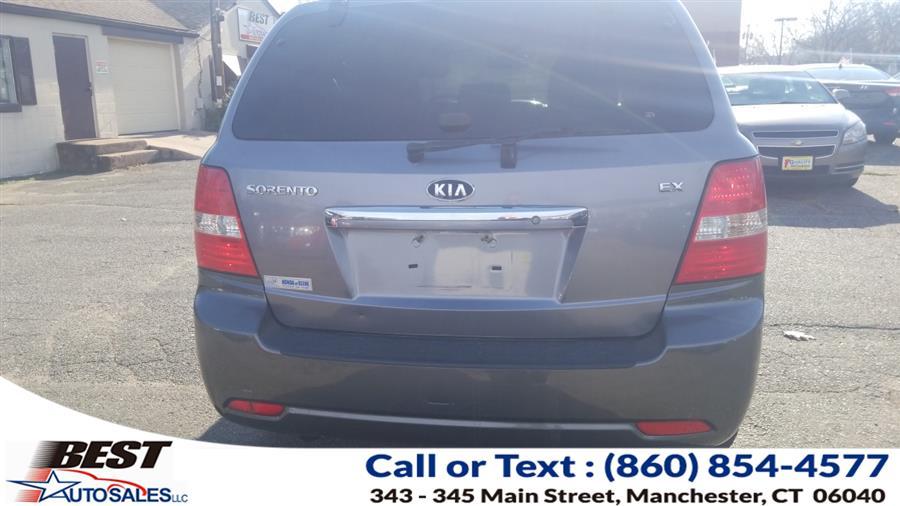 Used Kia Sorento 4WD 4dr EX 2008 | Best Auto Sales LLC. Manchester, Connecticut