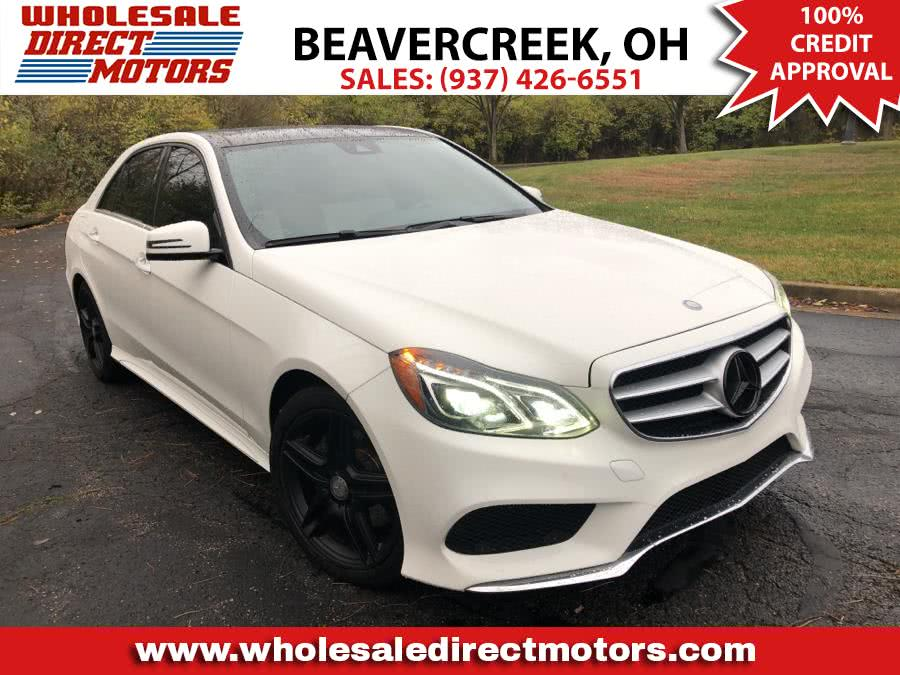 Used 2014 Mercedes-Benz E-Class in Beavercreek, Ohio | Wholesale Direct Motors. Beavercreek, Ohio