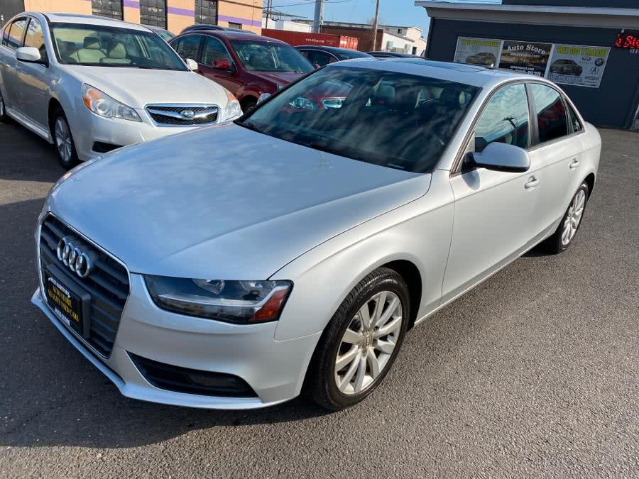 Used 2013 Audi A4 in West Hartford, Connecticut | Auto Store. West Hartford, Connecticut