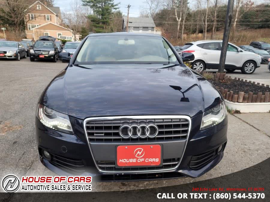 Used Audi A4 4dr Sdn Auto quattro 2.0T Premium  Plus 2011 | House of Cars. Watertown, Connecticut