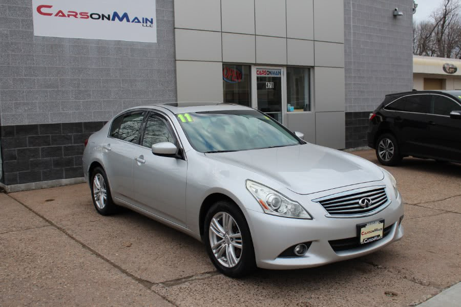 Used Infiniti G37 Sedan 4dr x AWD 2011 | Carsonmain LLC. Manchester, Connecticut