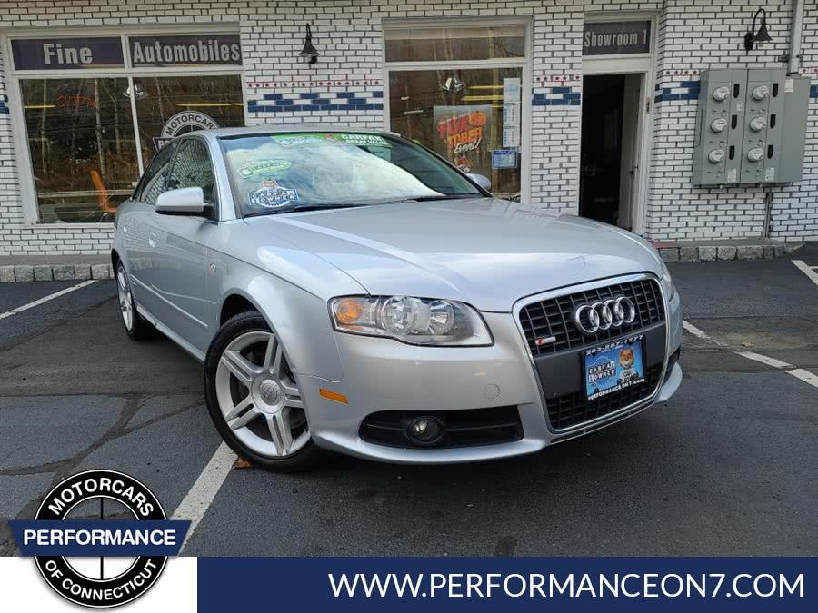 Used 2008 Audi A4 in Wilton, Connecticut | Performance Motor Cars. Wilton, Connecticut