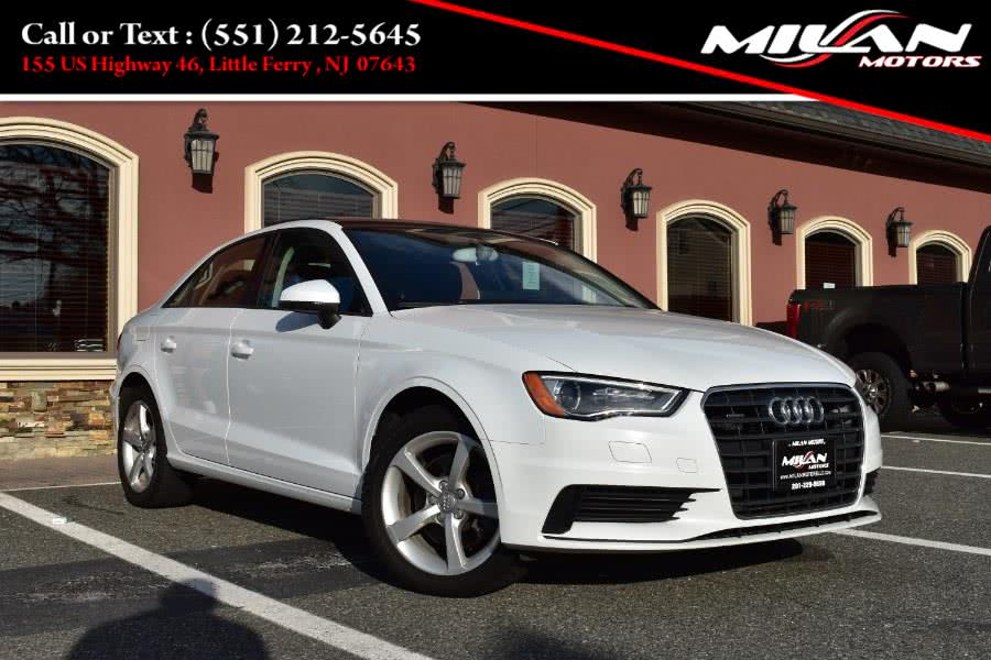 Used Audi A3 4dr Sdn quattro 2.0T Premium 2015   Milan Motors. Little Ferry , New Jersey