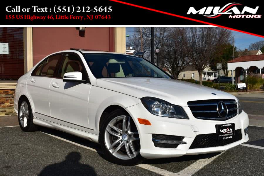 Used Mercedes-Benz C-Class 4dr Sdn C300 Sport 4MATIC 2014 | Milan Motors. Little Ferry , New Jersey