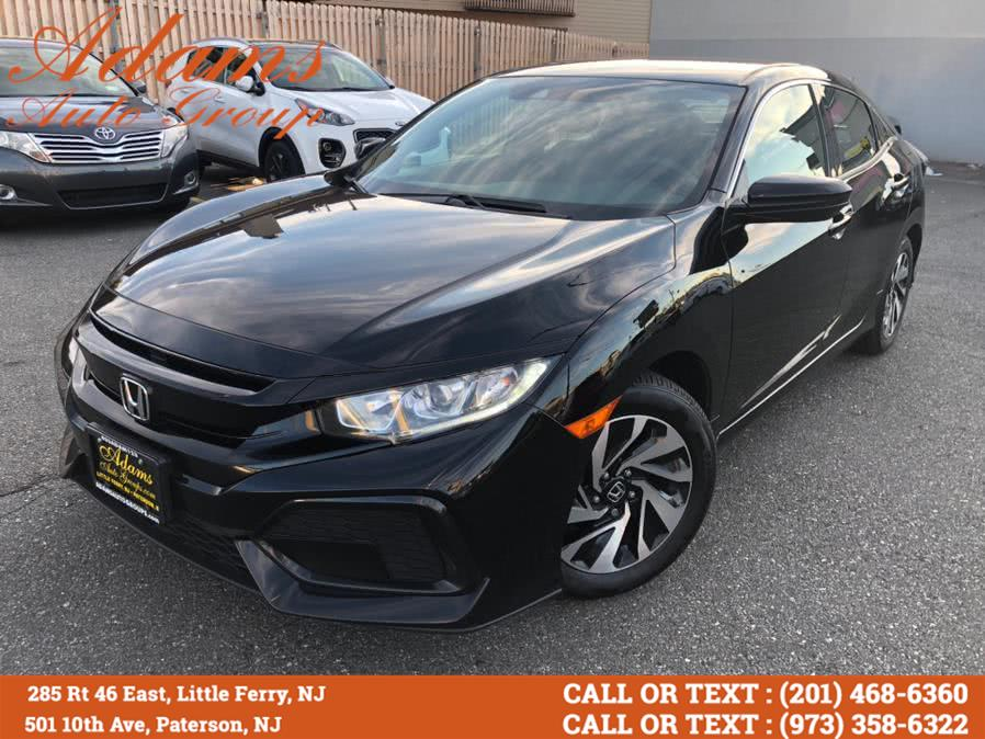 Used 2017 Honda Civic Hatchback in Paterson, New Jersey | Adams Auto Group. Paterson, New Jersey